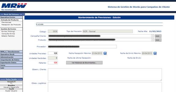 Sistemas Online de Logística Inversa y Gestión de Envíos eCommerce