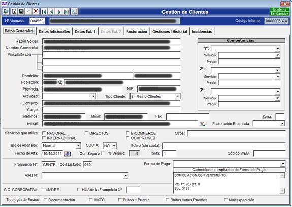 Sistema de Gestión de Soporte a CRM
