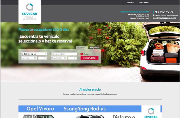 Portal de Alquiler de Vehículos sin conductor