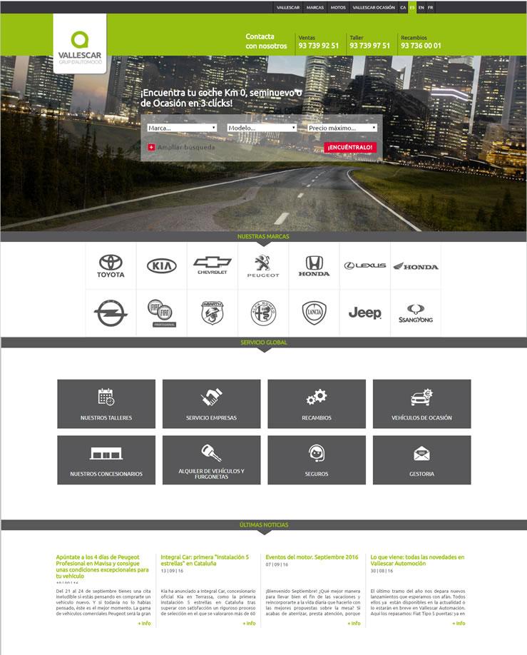 Portal Corporativo Vallescar Holding, S.L.